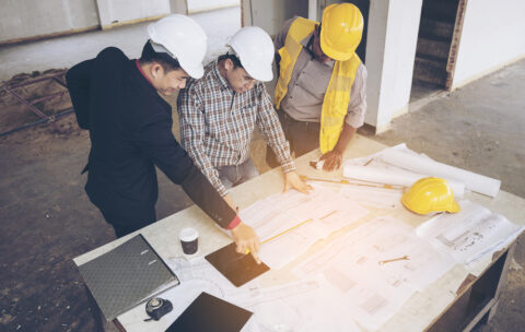 Asian,Business,People,Group,On,Meeting,And,Presentation,In,Construction