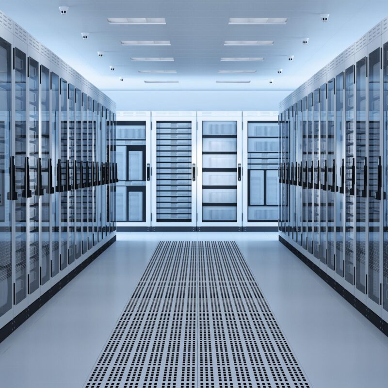 White,Server,Room,Network/communications,Server,Cluster,In,A,Server,Room.